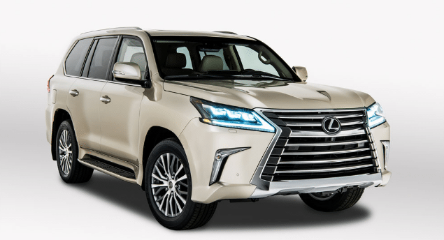 2020 Lexus LX Two-Row Redesign, Interior, and Release Date