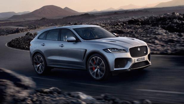 2021 Jaguar F Pace Redesign