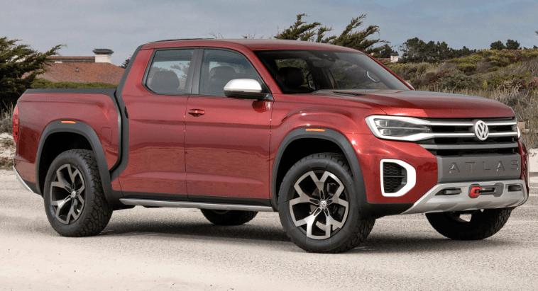 2020 VW Atlas Tanoak Redesign