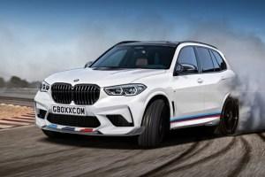 2021 BMW X5 Spy Shots