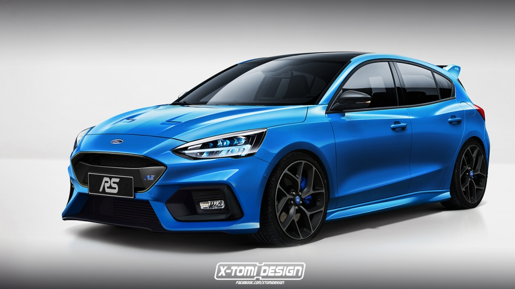 2021 Ford Focus RS Engine