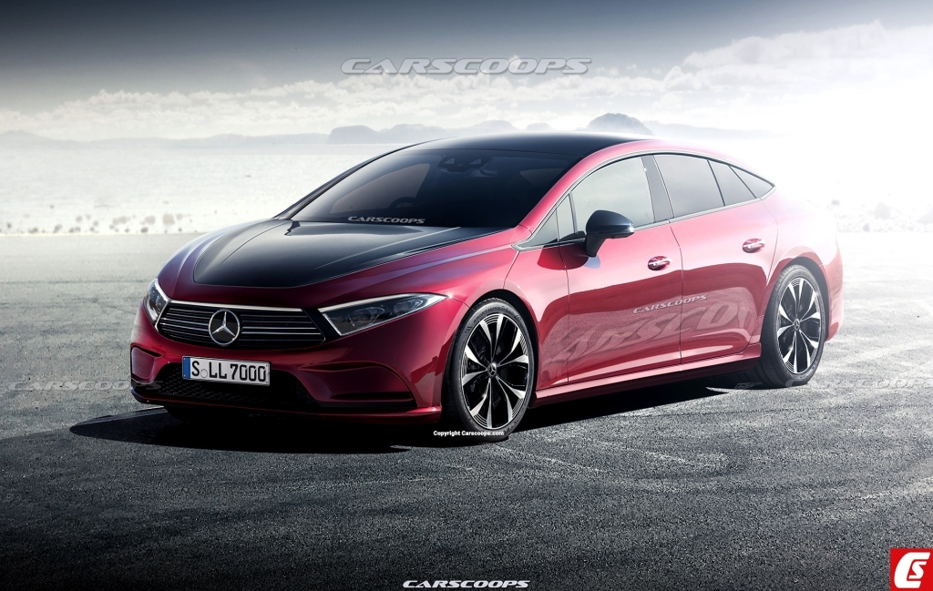 2021 MercedesBenz EQ Spy Shots