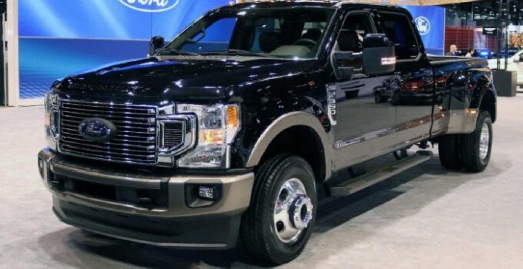 2022 Ford F250 Powertrain