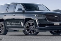 2022 GMC Yukon Spy Shots
