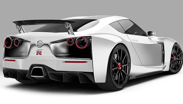 2018 Nissan GTR R36 Nismo Rear View