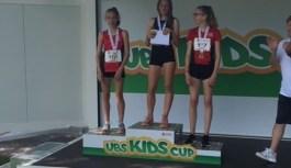 Matilda e Gaia sul podio del Della Finale Kids Cup