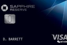 Chase Sapphire Reserve(CSR)信用卡【2021.7更新:官媒确认08/15改版】60K开卡奖励】