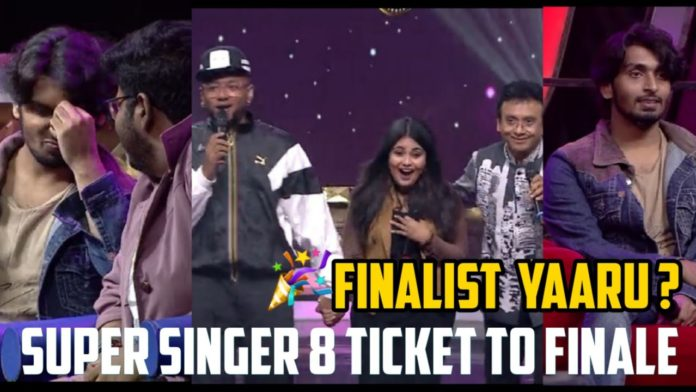 Super Singer 8 Voting Results shows Sridhar Sena reaching finale from wild card