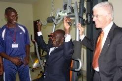 Uganda Parliament Gym