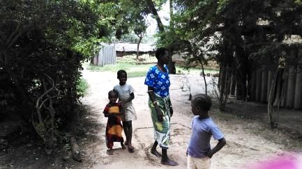 Kikuyu villagers