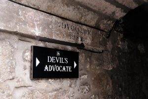 The Devil's Advocate: Key to one's Successful Business