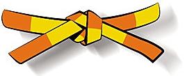 Ceinture demie-orange