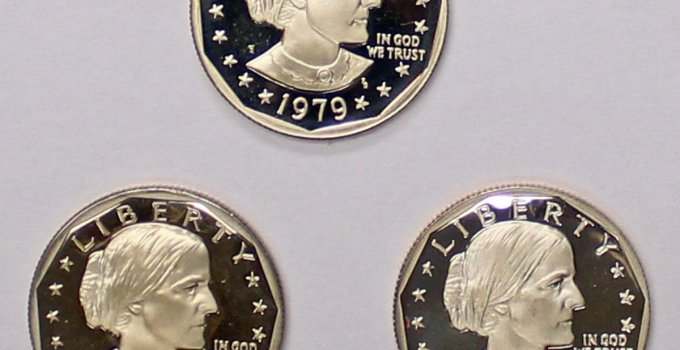 1979 to 1981 Susan B Anthony Proof Set