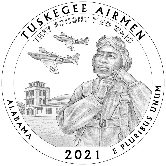 2021 America The Beautiful - Tuskegee Airmen National Historic Site