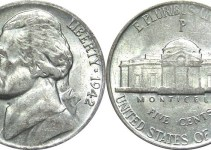 1942-P Jefferson Nickel