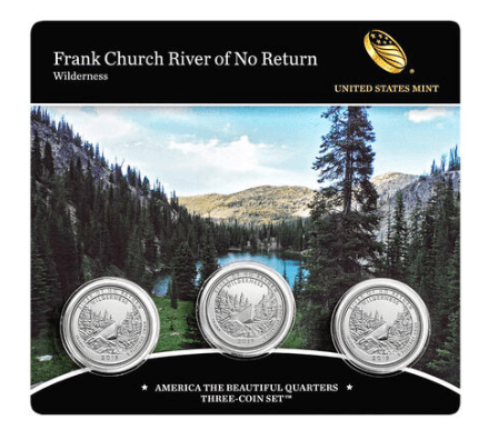 Frank Church River of No Return 3-Coin Set