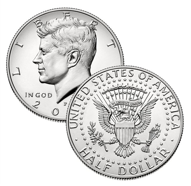 2000 Kennedy Half Dollar