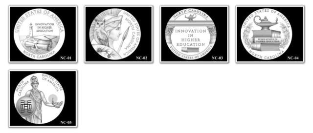 2021 North Carolina American Innovation Dollar Candidates