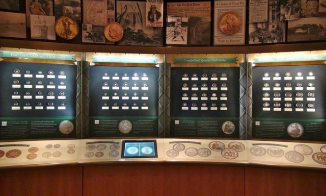 ANA Money Museum Display