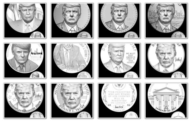 Donald Trump Presidential Medal