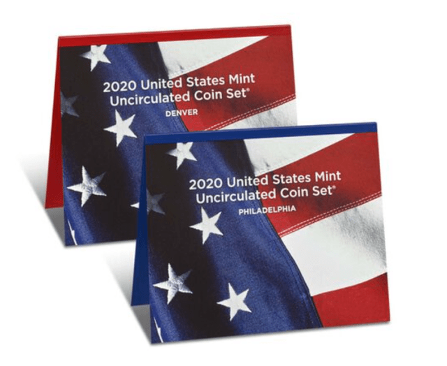2020 Uncirculated Mint Set (Image Courtesy of The United States Mint)