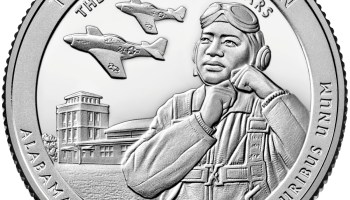 2021 Tuskegee Airmen National Historic Site America The Beautiful Quarter Reverse (Image Courtesty of The United States Mint)