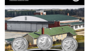 2021 Tuskegee Airmen National Historic Site 3-Coin Set (Image Courtesty of The United States Mint)