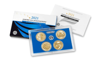 2021 American Innovation Dollar Proof Set (Image Courtesy of The United States Mint)