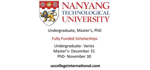 NTU Scholarships