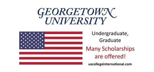 Georgetown University Scholarships