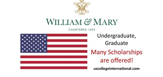 College of William and Mary Scholarships