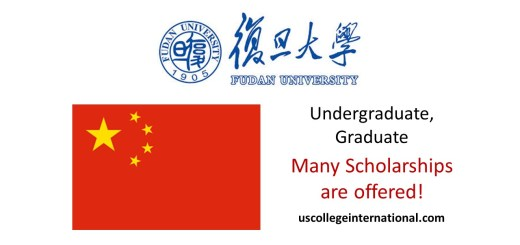 Fudan University Scholarships