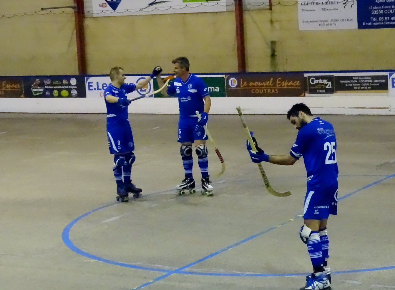 coutras noisy la victoire du collectif us coutras rink hockey