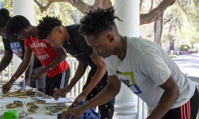 Basketball Team participates in the Amazing Race sponsored by the Colleton County Historical Society