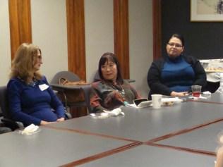 Kathy Bonagofsky, Amy Uyematsu, Gabby Gutierrez