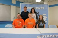 Riley Ulery with his brother - Cade Ulery, sister - Bailee Ulery, and his father and mother, Joe and Beth Ulery