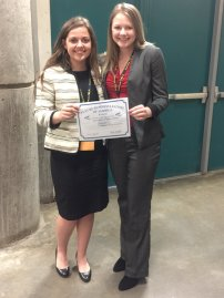National Qualifiers: 4th place in Introduction to Business Presentation. Megan Colvin & Saydi Sullivan.