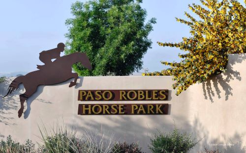 Paso Robles Horse Park front entry