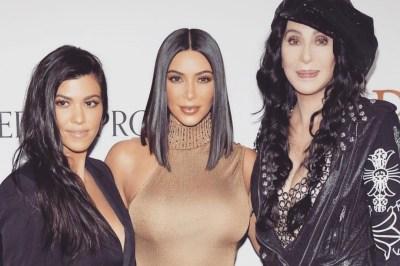 Kourtney Kardashian Kim Kardashian Cher