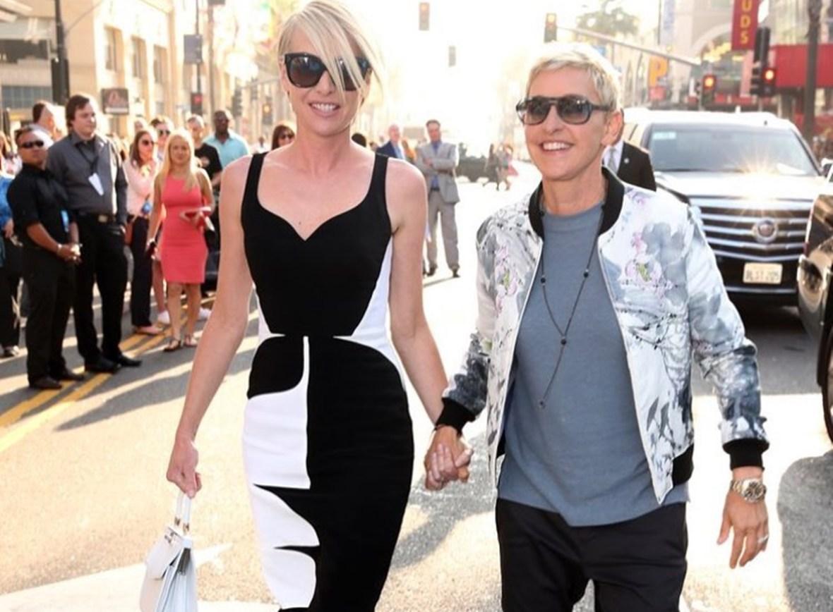 Portia De Rossi Ellen DeGeneres Divorce Rumors