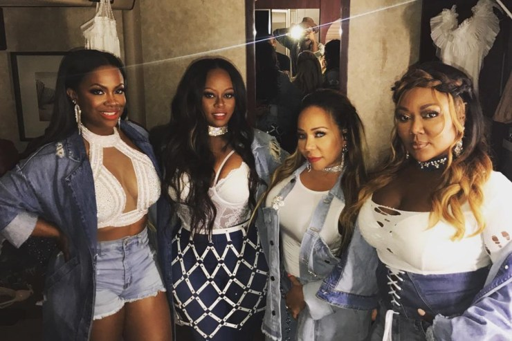 Kandi Burruss Tameka 'Tiny' Harris Xcape Tour