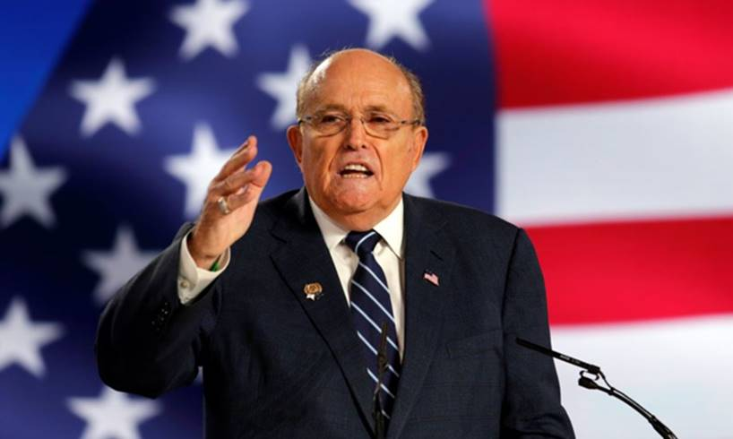 Rudy Giuliani Donald Trump Joe Biden Ukraine