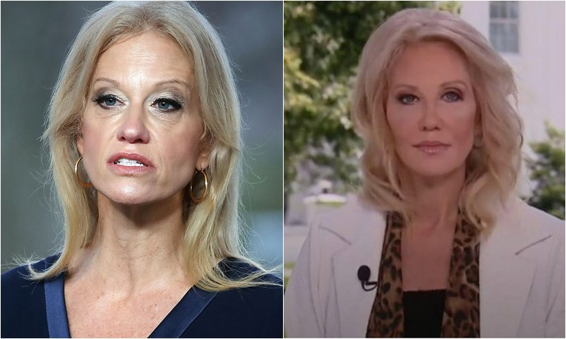 Kellyanne Conway New Look Face Donald Trump Husband George
