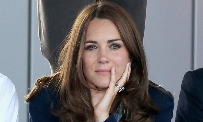 Kate Middleton Prince Wiliam Action on Addiction's The Brink Cafe Photo