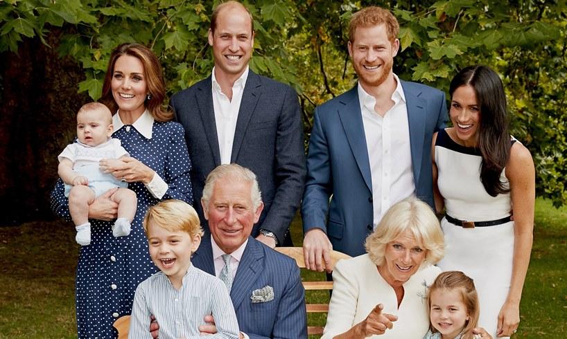 Prince Charles Camilla Parker Bowles Kate Middleton William Harry Meghan Markle