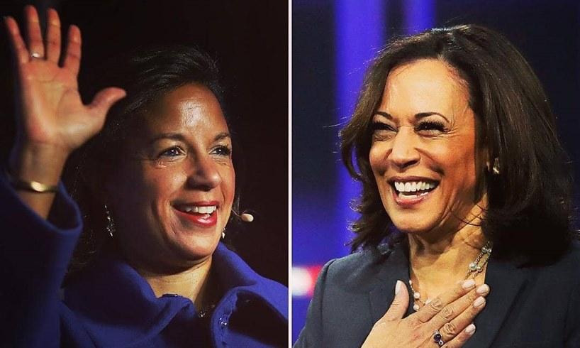 Susan Rice Kamala Harris Joe Biden's VP Pick