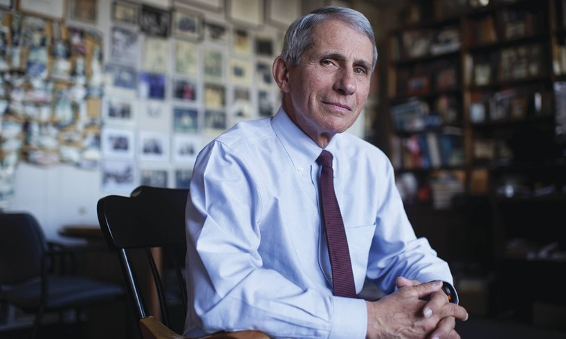 Dr Anthony Fauci Vaccine President Donald Trump