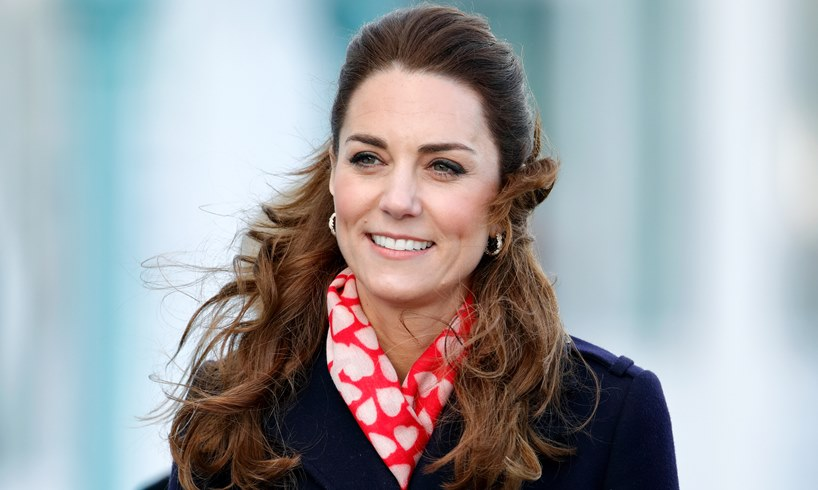 Kate Middleton Prince Louis Walk