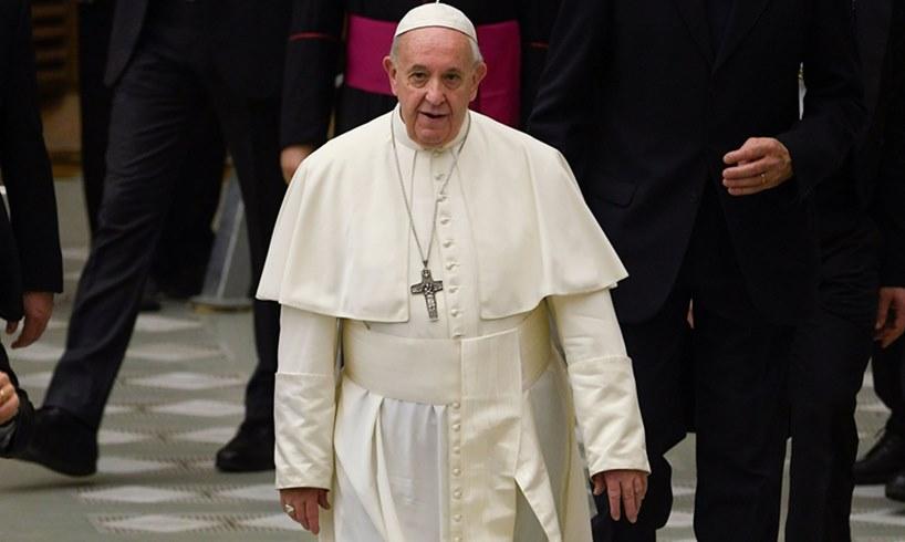 Pope Francis Pleasure Food God