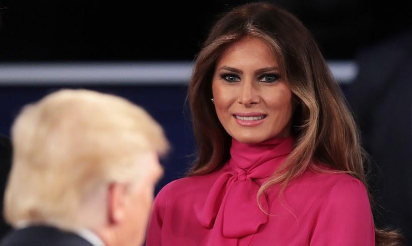 President Donald Trump Melania Trump Kamala Harris Fashion